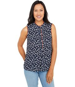 Tommy Hilfiger Sleeveless Floral Woven Top