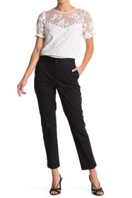 Laundry By Shelli Segal Slit Ankle Trousers