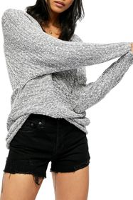Free People Bright Lights V-Neck Sweater