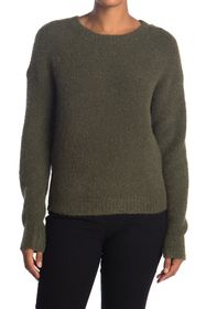 Theory Wool Blend Long Sleeve Sweater