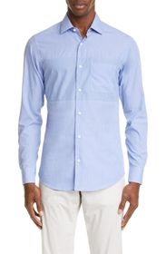 Z Zegna Extra Slim Fit Solid Shirt