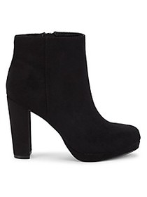 Charles by Charles David Side-Zip Faux Suede Booti