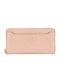 Marc Jacobs Empire City Leather Continental Wallet