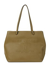 Marc Jacobs East-West Coated Leather Tote