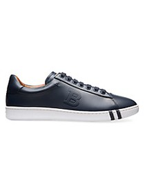 Bally Wilson Asher Leather Low-Top Sneakers