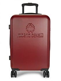 Roberto Cavalli Carry-On Hardshell Luggage