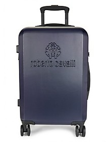 Roberto Cavalli Logo 19-Inch Carry-On Spinner Suit