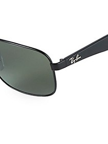 Ray-Ban 59MM Round Aviator Sunglasses