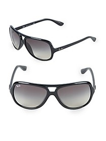 Ray-Ban 59MM Pilot Sunglasses