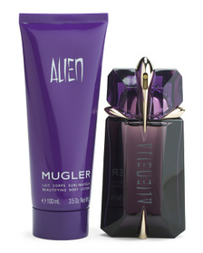 THIERRY MUGLER Made In France 2pc Alien Refillable