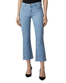 J Brand - Selena Cropped Flare Jeans in Stratocast