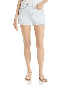 rag & bone - Dre Raw Hem Denim Shorts in Oasis