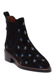 Coach Bowery Embroidered Chelsea Bootie