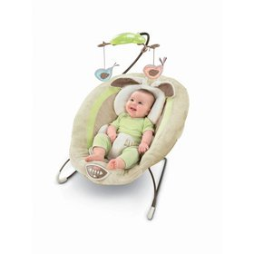 Fisher-Price Snugabunny Deluxe Bouncer
