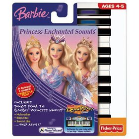 I Can Play Piano Software - Barbie Enchanted Sound