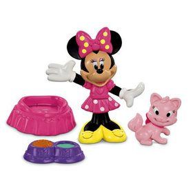 Fisher-Price Disney's Minnie and Cat Figure Pack,