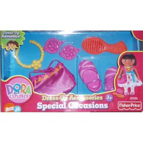 Fisher Price Dora Dress up Collection Special Occa