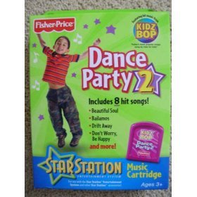 Fisher Price Star Station Dance Party #2 ROM Pack,
