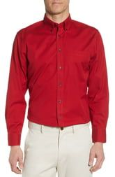 NORDSTROM MEN'S SHOP Smartcare™ Traditional Fit Pi
