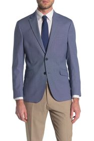Kenneth Cole Reaction Patterned Two Button Notch C