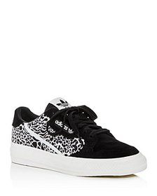 Adidas - Women's Continental Leopard-Print Low-Top