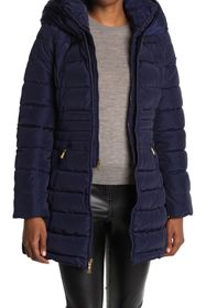 Laundry By Shelli Segal Bibbed Puffer Jacket