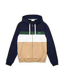 Lacoste - Cotton Color Blocked Striped Classic Fit