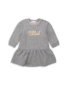 Chloé - Girls' Logo Sweatshirt Dress - Baby