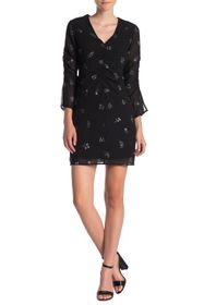 Sam Edelman Gathered Center Front A-Line Dress