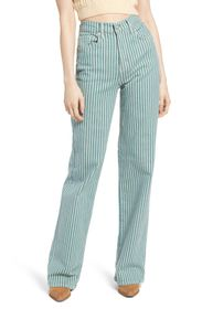 Free People Astoria Striped Wide Leg Pants