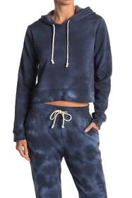 Threads 4 Thought Rose Cloud Wash Crop Hoodie