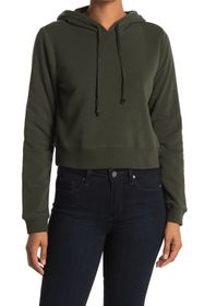Threads 4 Thought Rose Fleece Crop Hoodie