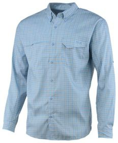 Huk Tide Point Woven Plaid Long-Sleeve Shirt for M