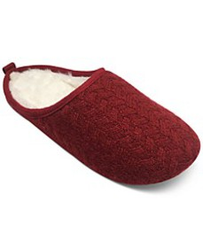 Women's Sweater-Knit Slide Slippers, Created for M
