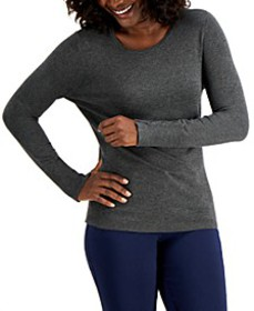 Button-Sleeve Crew-Neck Sweater, Created for Macy'