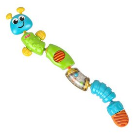 Fisher Price Colorful Snap-Lock Caterpillar Infant