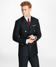 Brooks Brothers Country Club Milano Fit Saxxon™ Wo