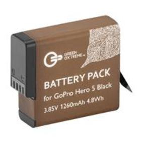 Green Extreme Rechargeable Battery for HERO 6, HER