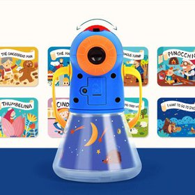 Story Projection Torch, Kids Storybook Projector C