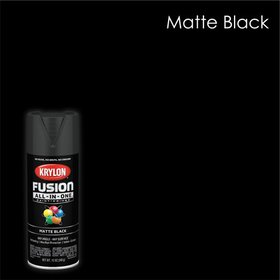 Blacks, Krylon Fusion All-In-One Spray Paint, 12 o on sale at Walmart