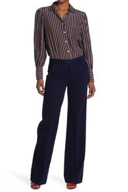 LOVE Moschino Pantalone A Zampa Wide Leg Pants