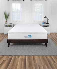 Smart Zone 3-Inch Quilted Memory Foam Mattress Top