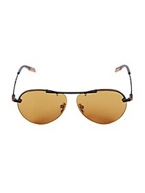 Ermenegildo Zegna 61MM Aviator Sunglasses