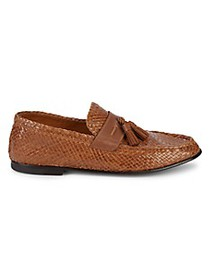 Bally Leather Tassel Loafers