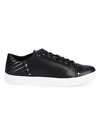 Versace Collection Studded Leather Sneakers