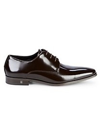 Versace Collection Patent Leather Derby Shoes