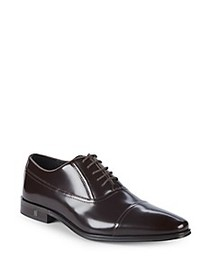 Versace Collection Patent Leather Oxfords