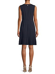 Tommy Hilfiger Ruffled Sleeveless Dress