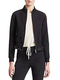 3.1 Phillip Lim Cinched Waist Track Jacket