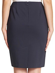 Tommy Hilfiger Zip Pencil Skirt